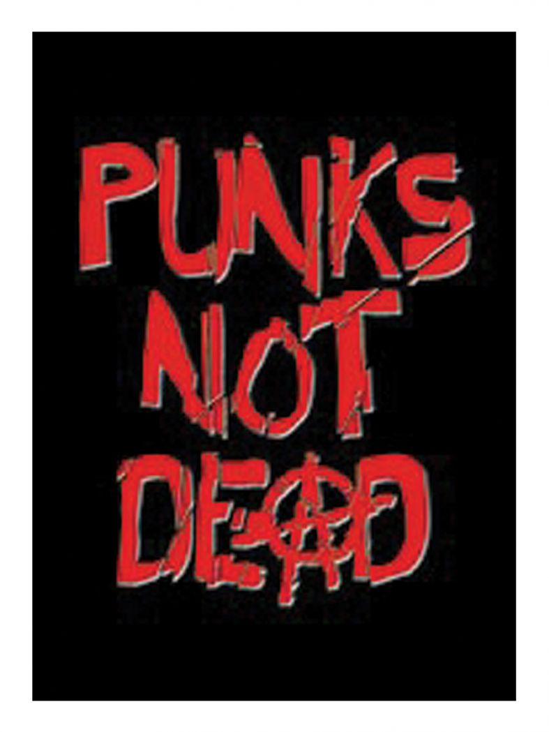 3 Punks not dead Postkarten