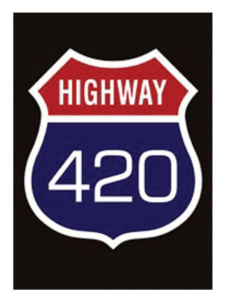 3 Highway 420 Postkarten