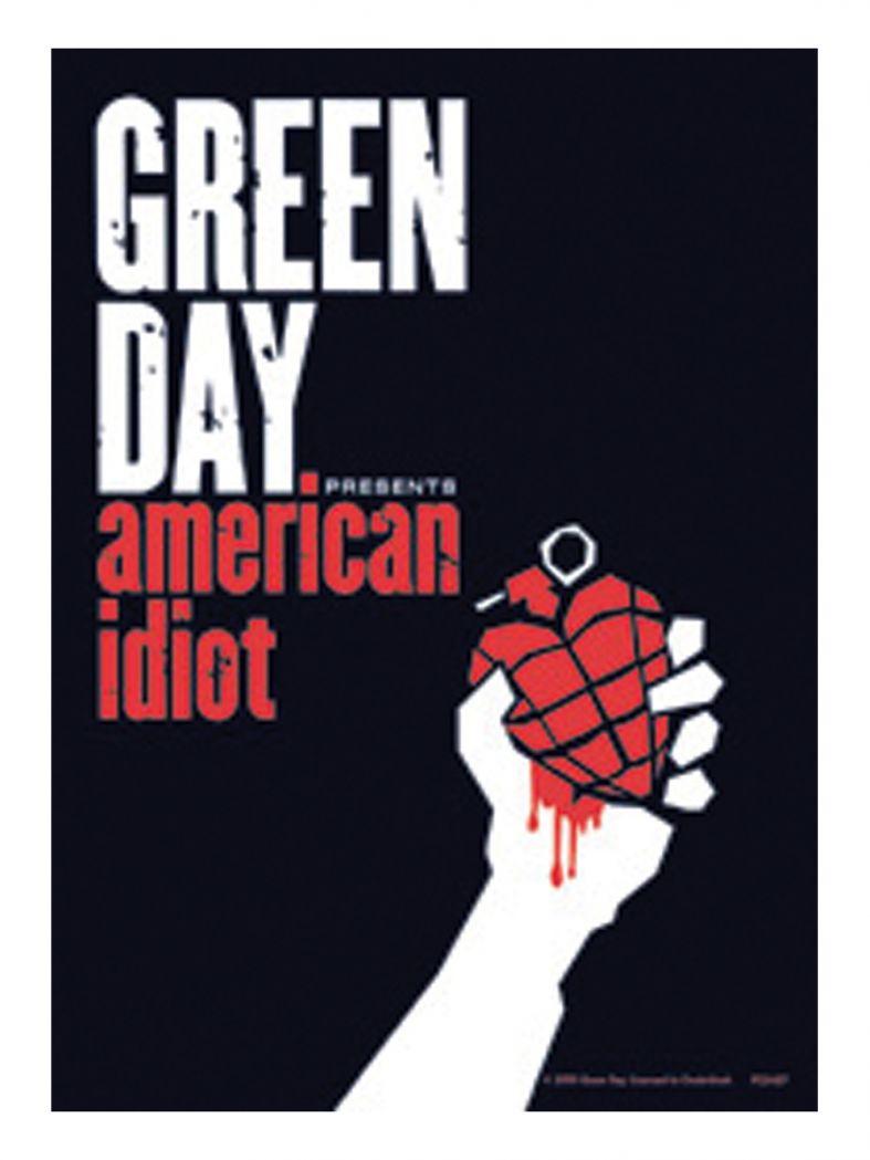 3 Green Day American Idiot Postkarten
