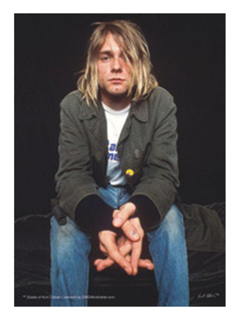 3 Kurt Cobain Postkarten