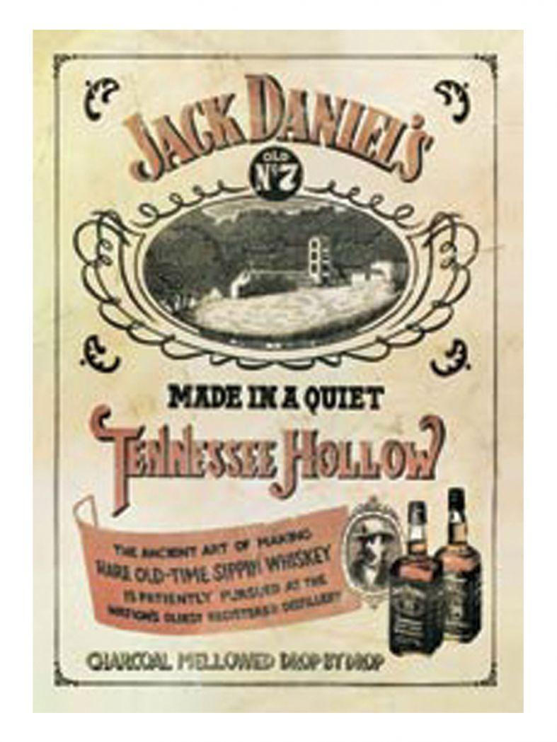 3 Jack Daniels Postkarten