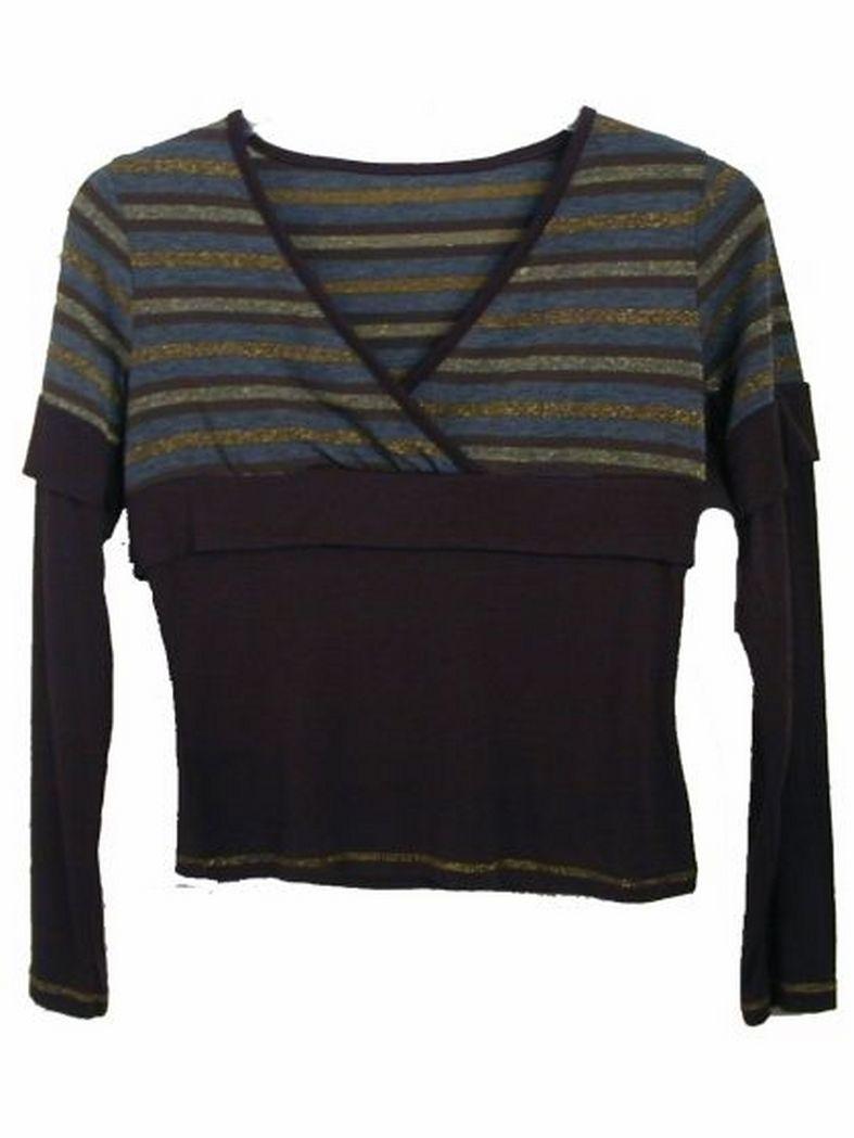 Sweatshirt gestreift