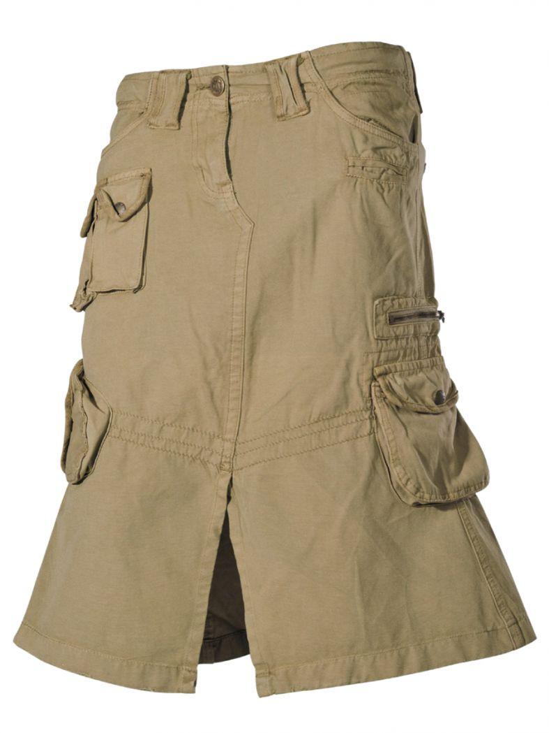 Armee Damenrock khaki