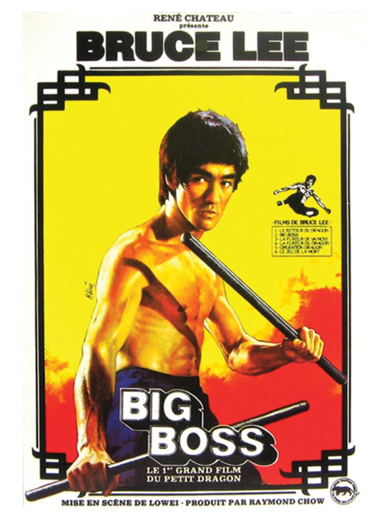 3 Bruce Lee Postkarten