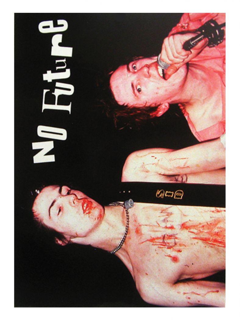 3 Sex Pistols No Future Postkarte