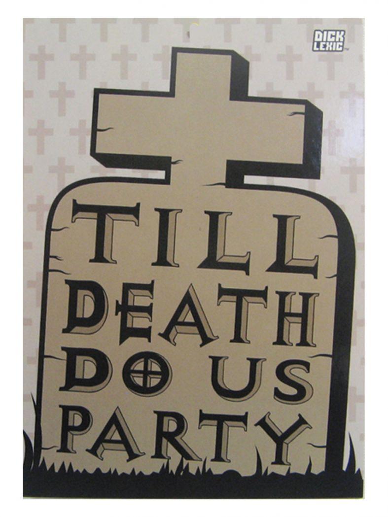 3 Till Death do us Party Postkarten