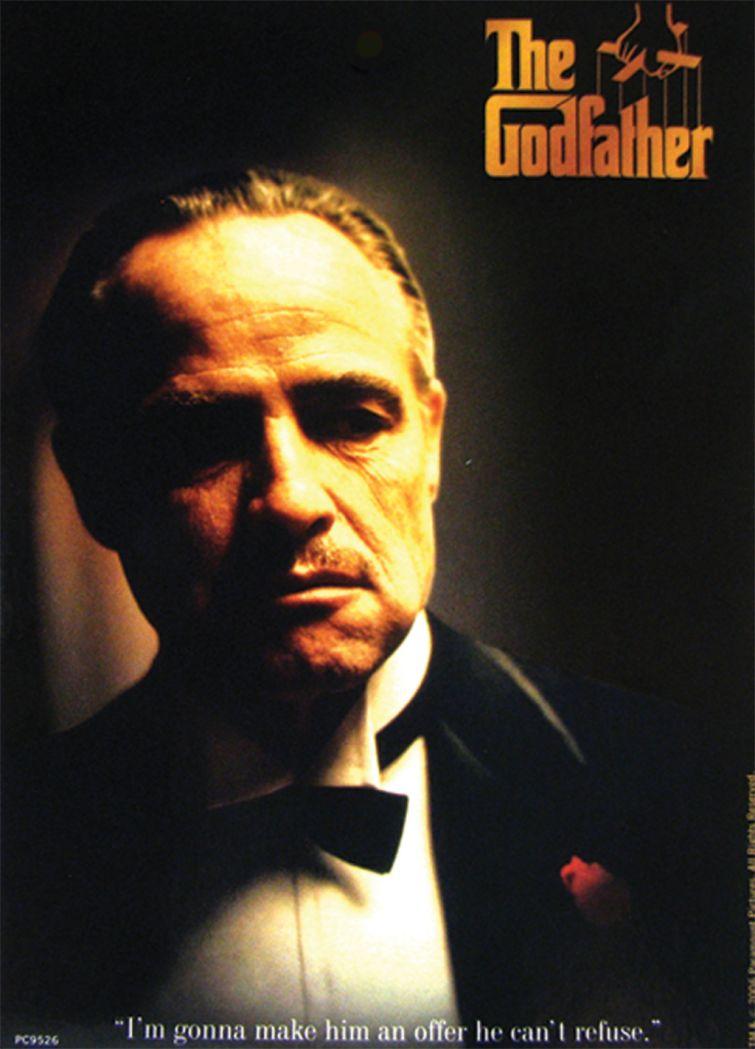 3 The Godfather Postkarten