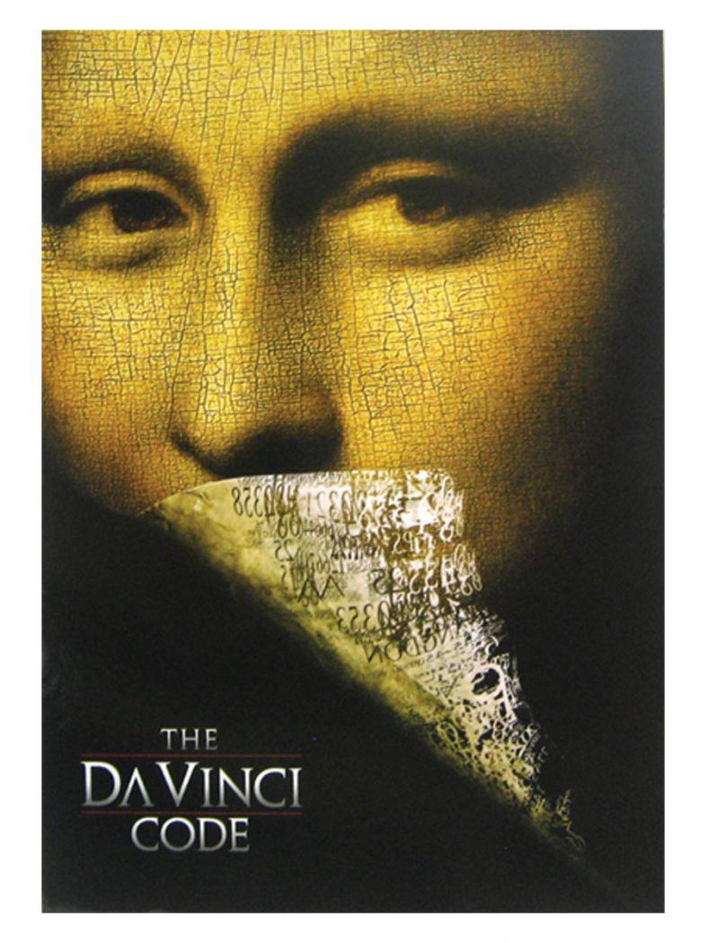 3 The Da Vinci Code Picture Postkarten