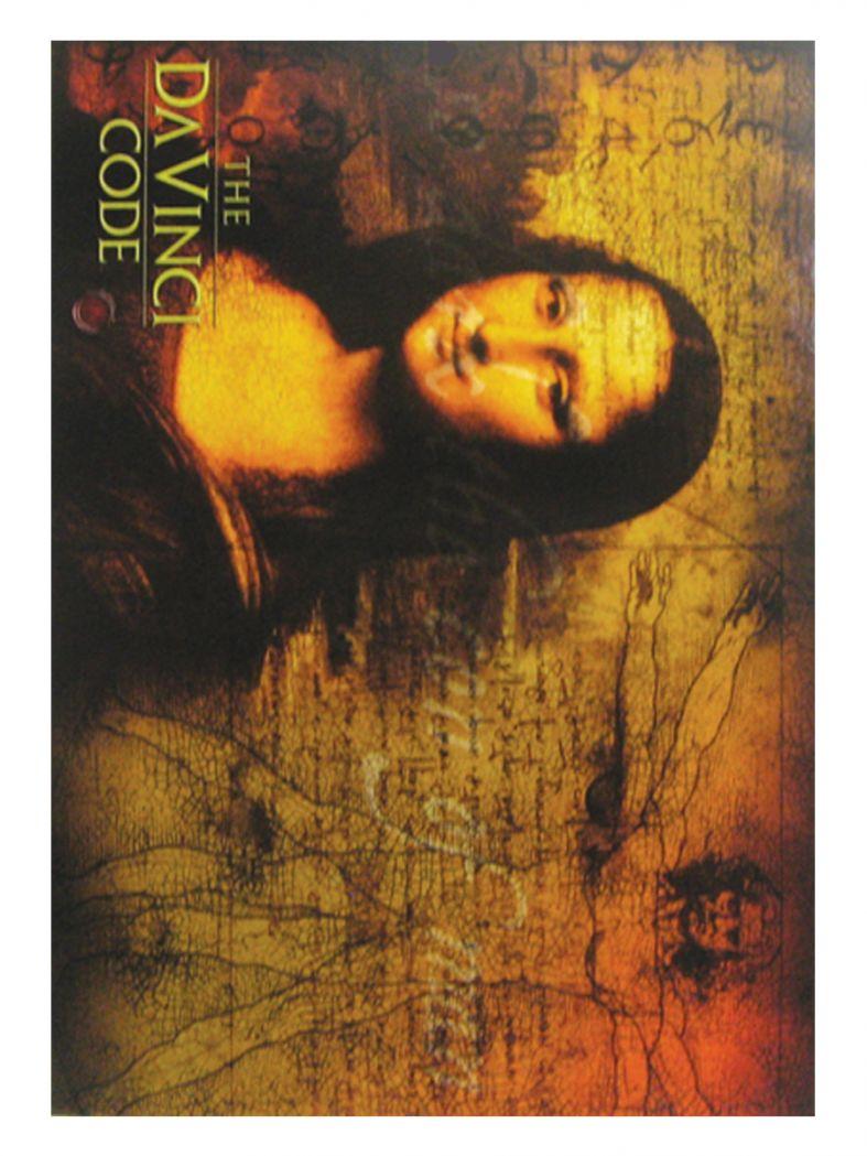 3 The Da Vinci Code Movie Postkarten