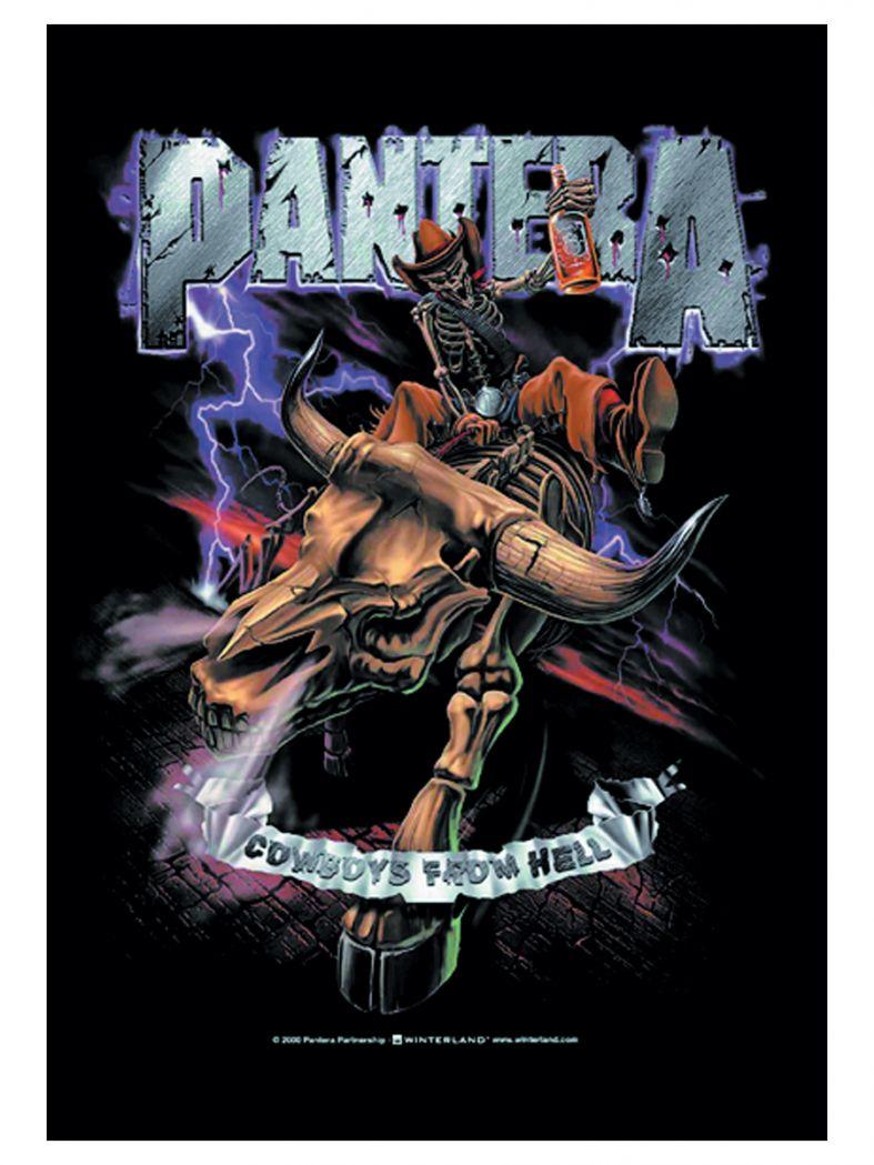 Pantera Poster Fahne Cowboys from Hell