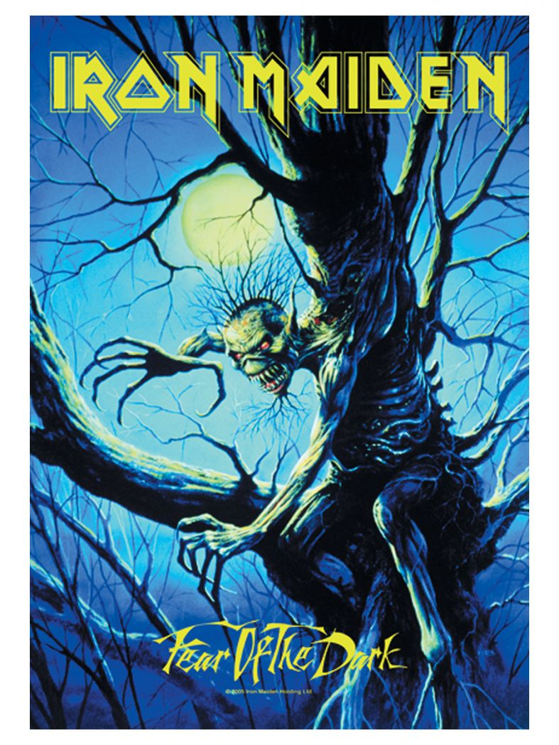 Iron Maiden Poster Fahne Fear of the Dark Live