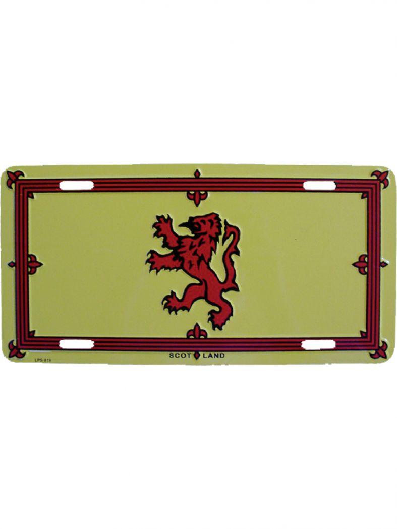 Autoschild Schottland Löwe