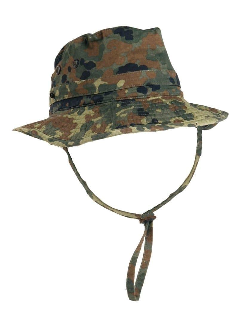 Bundeswehr Dschungelhut flecktarn gebraucht