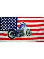 Fahne American Bike
