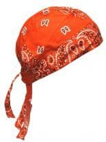Bandana Cap Old School orange