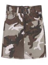 Armee Damenrock browncamo