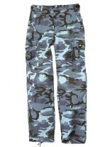 Damen US BDU Hose Sky Blue
