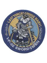 Stickabzeichen VF-32 Swordsmen Last Tomcat