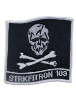 Stickabzeichen VFA-103 Jolly Rogers STRKFITRON 103