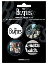 Button Set Beatles