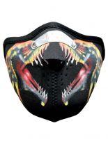 Motorrad Biker Maske Schlange