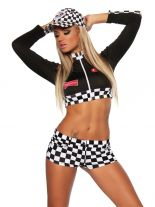 Racing Hot Pants Set