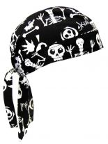 bandana cap skelett auch zandana kopftuch. Black Bedroom Furniture Sets. Home Design Ideas