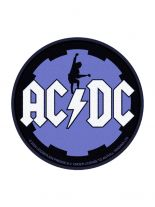 Aufnäher ACDC rund