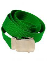 Textil Gürtel grün
