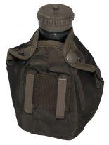 Österreichischer Armee Feldflaschenbezug oliv gebraucht