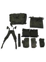 Britisches Armee Tactical Set M 58 oliv gebraucht