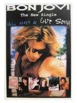 3 Bon Jovi New Single Postkarten