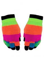 Multi Handschuhe Regenbogen 2 in 1