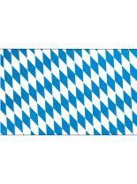 Fahne Bayern blau weiß
