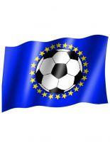 Fahne Europa Fußball
