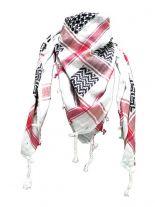 Palästinenser Tuch schwarz weiß rot