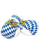 Kleine Boxhandschuhe Bayern Wappen