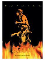 ACDC Poster Fahne Bonfire