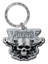 Bullet for My Valentine 2 Pistols Merchandise Schlüsselanhänger