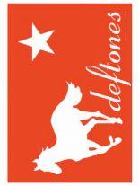 Deftones red Merchandise Schlüsselanhänger