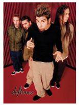 Deftones Band Merchandise Schlüsselanhänger