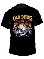 Biker T-Shirt Old Bikes