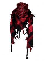 Palästinenser Tuch schwarz rot