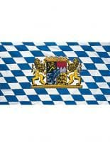 Fahne Bayern mit Wappen