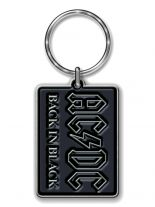 ACDC Back in Black Merchandise Schlüsselanhänger