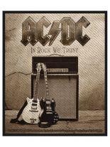 Aufnäher ACDC In Rock We Trust