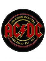 Aufnäher ACDC High Voltage Rock n Roll
