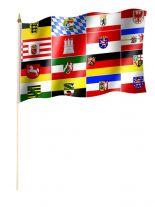Stockfahne 16 Bundesländer