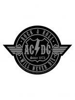 Aufnäher ACDC Rock n Roll will never Die