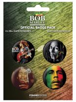 Button Set Bob Marley